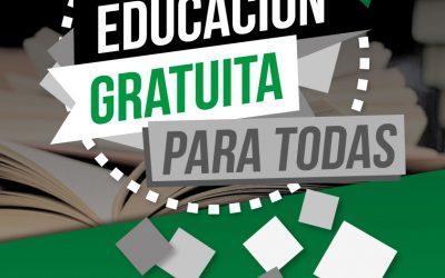 Educación gratuita para todas