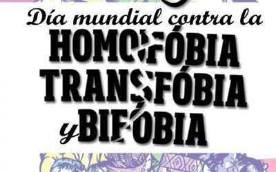 17M Día contra la homofobia, la bifobia y la transfobia