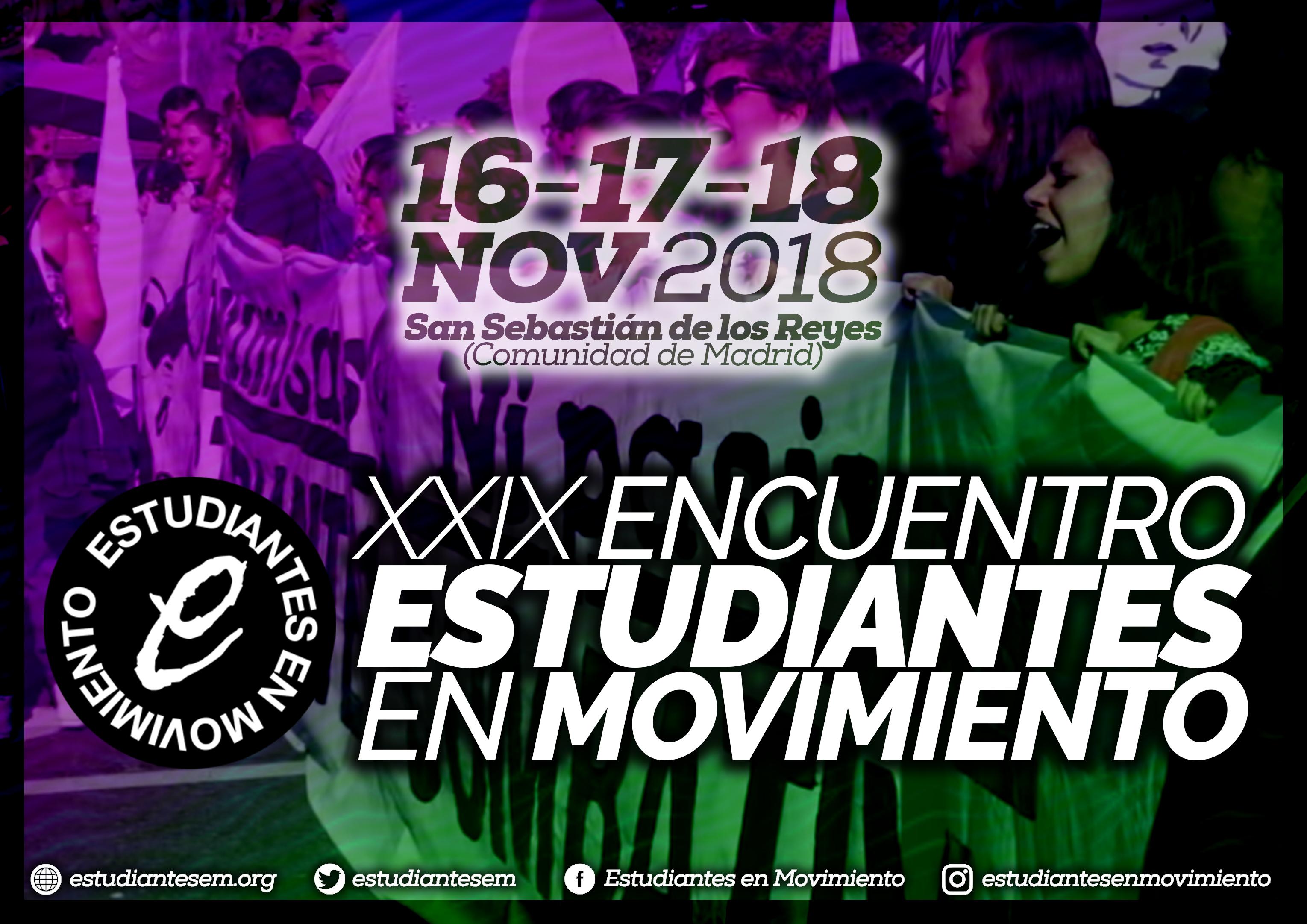 XXIX Encuentro de Estudiantes en Movimiento